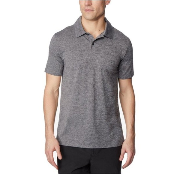 32 Degrees Other - 32 Degrees Techno Mesh Men's Gray Polo